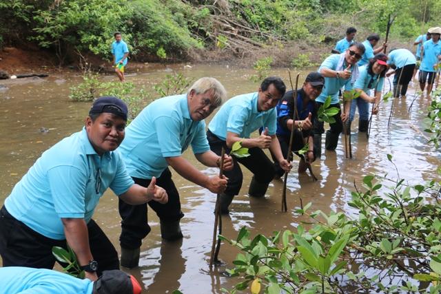 Pengabdian Masyarakat Politeknik KP Bitung di Kelurahan Pasir Panjang Lembeh Selatan Kota Bitung